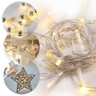 Led String Fairy Lights Xmas Birthday Party Lamp Room Home Gerden Decoration