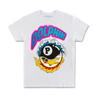 Pink Dolphin Mens 8 Ball Tropics White T-Shirt Print Tee Brain Surf Fall 19 NWT $13.99 USD on eBay