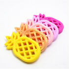Pineapple Silicone Teether Pendent Diy Baby Teething Soother Sensory Toy Making