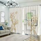 Granular Pearl Pole 3D Curtain Blockout Photo Printing Curtains Drape Fabric