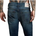 True Religion Men's Rocco Skinny Fit Stretch Jeans in Hang 02
