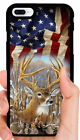 AMERICAN FLAG DEER BUCK CAMO PHONE CASE FOR IPHONE XS MAX XR X 8 7 6S PLUS 5C 5