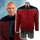 Star Trek The Next Generation Captain Picard Duty Uniform Jacket TNG Red Costume on eBay
