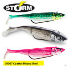 Storm 360GT Coastal Biscay Shad Weedless Lures - Bass Cod Pollock Fishing Tackle