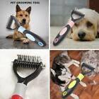 Pet Dog Cat Hair Removal Brush Comb Shedding Rake Fur Knot Grooming Tool