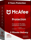 MCAFEE TOTAL PROTECTION 2019 6 Year (06/25/2025)1 Pc /Win Official Website🔥🔥🔥