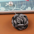 Clothes Accessories Flower Pearl Beads Lovers Wedding Party Badge Pins Brooches