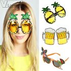 1 Pair Bride Novelty Party Sunglasses Creative Funny Glasses Hawaiian Tropical