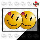 Smiley Face - Glossy Pvc Vinyl Decal Stickers Inspired Watchmen Movie Tv Series