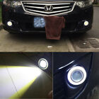 "3.5"" Car Fog Light Lamp COB LED Projector Halo Angel Eyes Rings DRL White/Red/Bl $17.49 USD on eBay"
