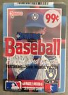 1988 Cello Pack Paul Molitor Brewers HOF (Top) Pete Smith Braves Rookie (Back)
