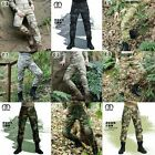 Men's Outdoor Tactical Pants Army Military Combat Cargo Camo Combat Trousers New