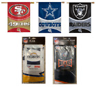 "NFL Vertical Flag Licensed Banner 27"" x 37"" -Select- Team Below $13.96 USD on eBay"
