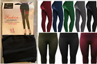Ladies Thick Winter Thermal Leggings Fleece Lined Warm High Waist Tummy Control