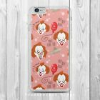 PENNYWISE PATTERN IT STEPHEN KING  Phone Case Cover for iPhone Samsung