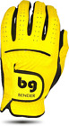 Yellow Synthetic Golf Glove
