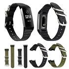 Breathable Sports Soft Watch Band Woven Nylon Strap Bracelet For Fitbit Charge 3