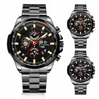 Fashion Men's Automatic Mechanical Stainless Steel Band Sport Wrist Watch