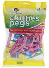 Home Proud Clothes Pegs 24 Pack - Food Bag Grips 10 Pack - Kettle Descaler