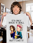 Rolling Stones It's Only Rock 'N' Roll But I Like It Men White T-Shirt