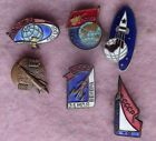 Space russian collection pin