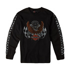 Genuine Harley-Davidson Men's Shirt Checker Long Sleeve Tee $39.00 AUD on eBay