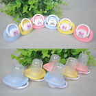 LD_ BL_ Kids Baby Cute Soother Nipples Translucent Silicone Baby Dummy Pacifie