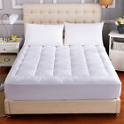 Waterproof-Matress-Pad-Cooling-Mattress-Topper-Hypoallergenic-Cotton-Quilted-New