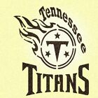Tennessee Titans Stencil Mylar Mancave Sports Football Stencils $15.85 USD on eBay