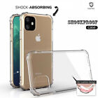 For iPhone 11 Pro Max 5.8 6.1 6.5 XS XR Shockproof Matte Bumper Soft Case Cover