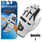 Bionic Golf Glove StableGrip - Mens Left Hand - Small - White - Leather