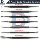 7Pcs Dental Periosteal Elevator Sinus Periotome Buser Molt Freer Implant Surgery