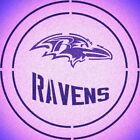 DOUBLE CIRLCE BALTIMORE RAVENS w/ TEAM NAME STENCIL SPORT FOOTBALL STENCILS $14.74 USD on eBay