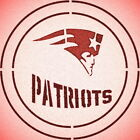 DOUBLE CIRLCE NEW ENGLAND PATRIOTS W/ TEAM NAME STENCIL SPORT FOOTBALL STENCILS $14.74 USD on eBay