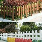 Wooden Garden Picket Wicket Fence Panels Lawn Border Edge Edging Fencing Spw