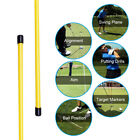 Portable Ultra-light Golf Alignment Sticks Practice Exercice Rods Training Aid
