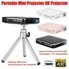 4K Projector X3 Mobile Phone Companion HDMI Input Portable DLP Mini Projector AP