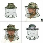Camo Mosquito Bug Insect Net Bee Mesh Head Face Protect Fishing Hat Item