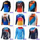 Men Cycling Jersey Jacket KTM GoPro Bike Motocross MTB Tight Shirt Team Downhill