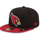 Arizona Cardinals New Era League Basic 59FIFTY Fitted Hat - Black/Red $24.49 USD on eBay