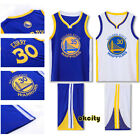 Golden State Warriors Stephen Curry Klay Thompson Youth Child Kid Jersey Shorts on eBay