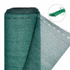 Fence Netting Green 120 cm Wide, Privacy Shield, Fence Screen, Railing Net