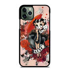 BETTY BOOP iPhone 6 6S 7 8 Plus X XS Max XR 11 Pro Case Cover $14.9 USD on eBay
