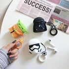 3D Star Wars Darth Vader Airpod Earphone Headset Recharge Box Case Cover Airpods $6.61 CAD on eBay