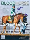 Jockey Joel Rosario Signed Breeders Cup Blood Horse Magazine Accelerate 2018