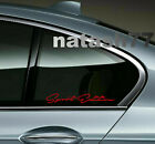 Sport Edition Racing Car Truck SUV window Vinyl Decal sticker emblem Logo 2pcs $13.56 USD on eBay