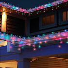 10-100FT LED Christmas Fairy Icicle Home Curtain Lights Lamp Xmas Indoor Outdoor