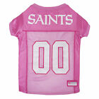 Pets First New Orleans Saints NFL Pink Mesh Jersey $23.99 USD on eBay