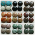 4 x Round Agate / Howlite Cabochons. 24mm. 10 Options. Jewellery or Crafting.