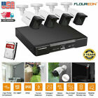 8CH / 4CH smart CCTV 1080P DVR Kit Wifi WLAN 1080 IP Camera Security NVR System